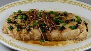 Steamed Tuna Steak With Ginger Sauce