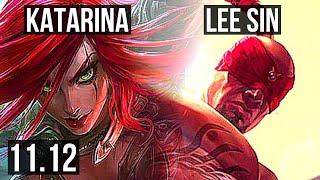 KATARINA vs LEE SIN (MID) | Ra…