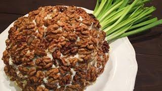"""Салат """"Ананас"""" - вкусный салат к праздничному столу, Новый год 2018"""