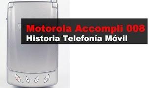 Motorola Accompli 008, anunciado en 2002 | Historia Telefonía Móvil