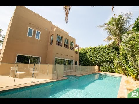 Upgraded 5-Bed Villa with A Private Pool in Hattan, The Lakes Dubai for AED 10.5M
