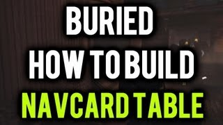 *new* Buried- How To Build The Navcard Table!