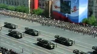 9 мая 2010г. Москва. Красная площадь. Военный парад. Салют