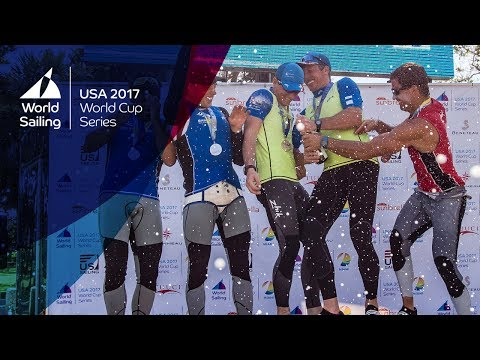 Sailing World Cup Miami - Saturday's Medal Races Live