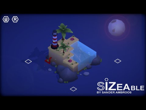 Demo Wednesday | Sizeable: Epic Low poly Puzzle game|