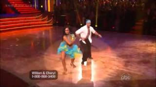 William Levy & Cheryl Burke- Salsa