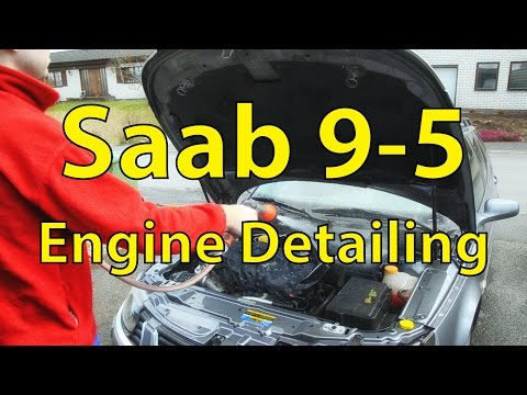 Saab 9-5 Detailing: Washing the Engine Bay - Trionic Seven