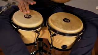 MEINL Percussion Latin Styles on Bongos - LC300NT-M