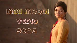 Imai Moodi Full Vedio Song | Geetha Govindam Tamil Song