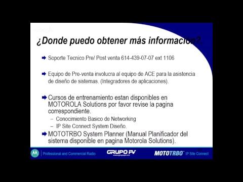 Webinar: Presentación IP Site Connect