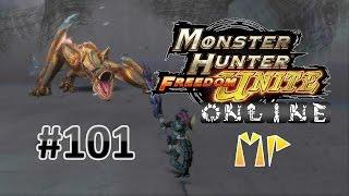 Monster Hunter Freedom Unite Online MP #101 | Tigrex [Low Rank]