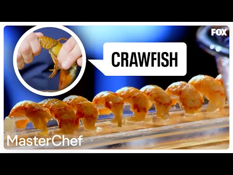 Gordon Ramsay Demonstrates How To Prepare Crawfish | Season 8 Ep. 12 | MASTERCHEF