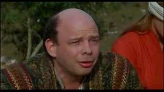 Wallace Shawn in The Princess Bride - the Wager