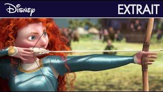 Rebelle - Extrait : Mérida et l'épreuve de tir à l'arc I Disney