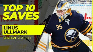 Top 10 Linus Ullmark Saves from the 2021 NHL Season