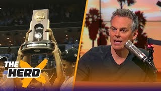 Colin Cowherd lists the 9 teams that can win the NCAA Tournament | THE HERD