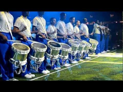 Southern Vs Grambling State Drumline Battle 2012