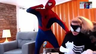 hoat hình spiderman và người nhện