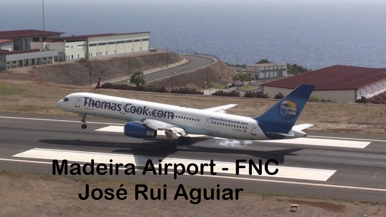 Aeroporto Da Madeira Avioes Pousando E Decolando Youtube