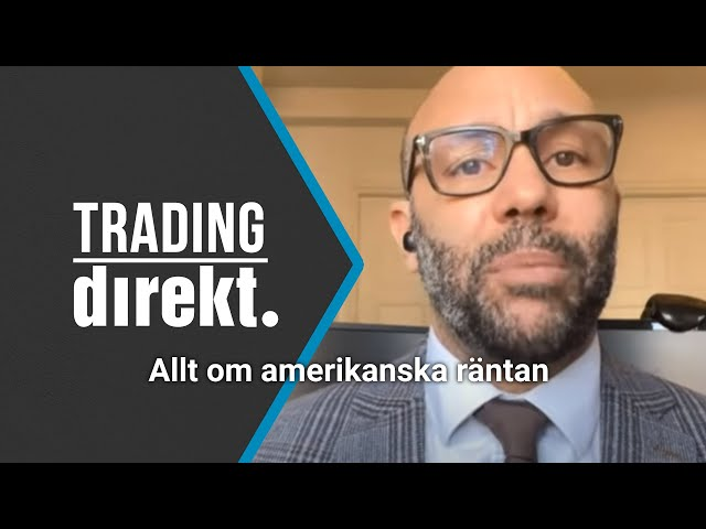 Trading Direkt 2021-03-02: Därför påverkar amerikanska räntan hela världens ekonomi!