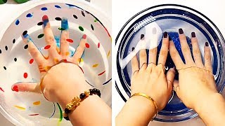 Relaxing Slime Compilation ASMR | Oddly Satisfying Video #34