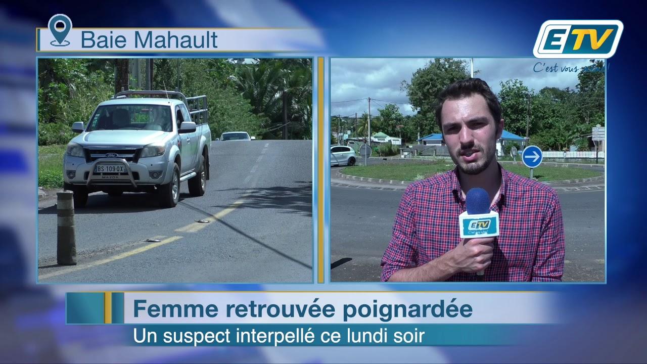 Baie Mahault : femme retrouvée poignardée, un suspect interpellé ce lundi