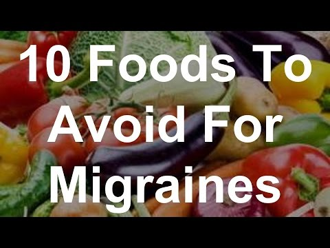 10 Foods To Avoid For Migraines