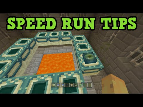 Minecraft Console Speed Run Tips - EYE OF ENDER TRICK
