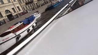 Boat trip in st Petersburg