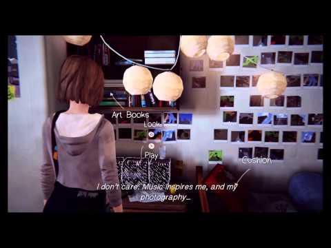 Life is Strange - Ep1/part 6 - Max's room/Dana+Juliet - Walkthrough Gameplay