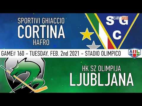 SGC CORTINA HAFRO vs HK SZ LUBIANA - 02 Febbraio 2021