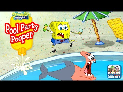 SpongeBob SquarePants: Pool Party Pooper – Keep the Anchovies Happy
