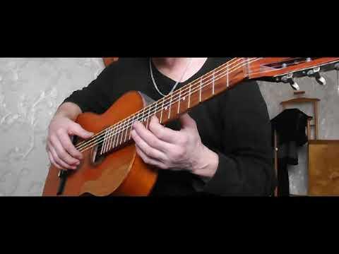 Уроки игры на 7 струнной гитаре для начинающих видео