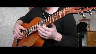 Семиструнная гитара. Урок 1 - не так как в музыкальной школе.