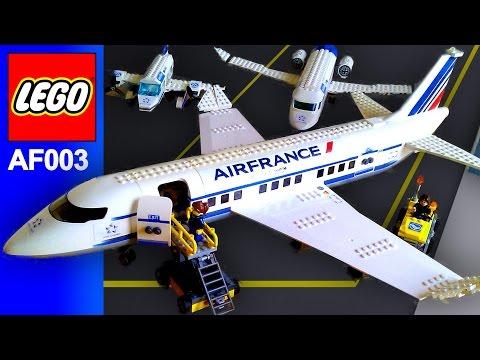 Lego Air France Plane