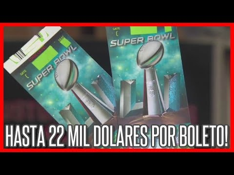 Entradas al Super Bowl los precios más altos en la historia de la NFL