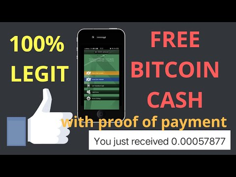 Earn & Claim Free Bitcoin Cash With Proof Of Payment 2019