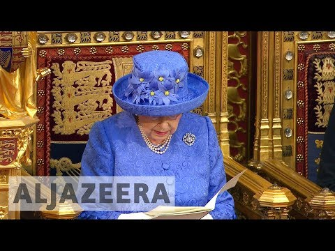 UK parliament opens officially with Queen's speech