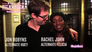 Memphis the Musical - BEST NEW MUSICAL - What's On Stage Awards 2015