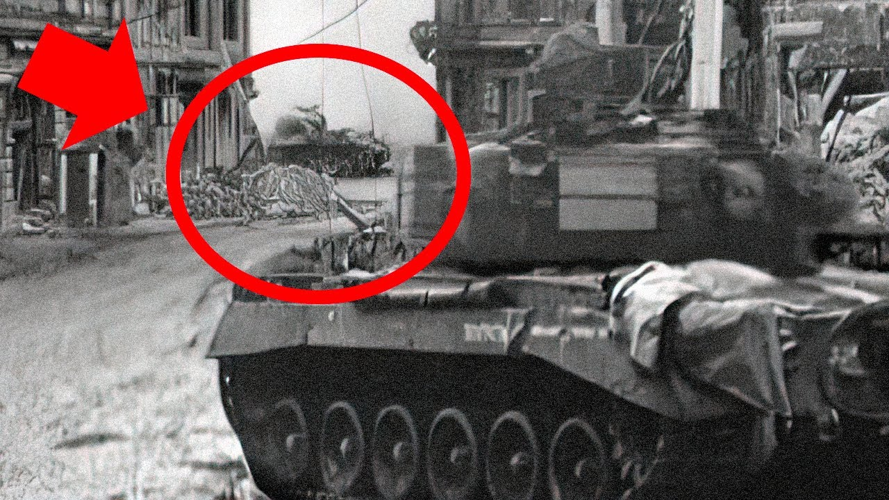 American Tank vs German Tank Caught on Camera - Cologne Cathedral
