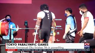 Tokyo Paralympic Games Ghanas Emmanuel Oku finishes 7th in powerlifting - AM Sports 30-8-21