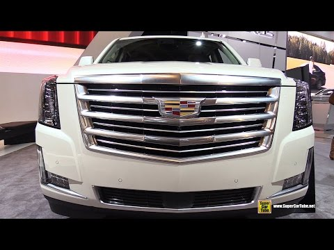 2015 Cadillac Escalade 4RM - Exterior and Interior Walkaround - 2015 Montreal ...