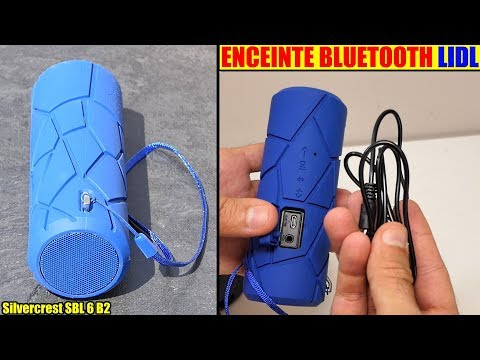 Enceinte Bluetooth Lidl Silvercrest Extérieur 2 X 2 W Rms