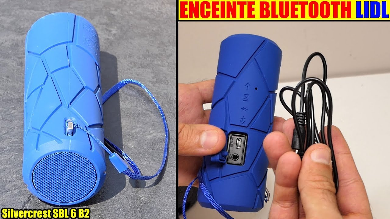 Enceinte Bluetooth Lidl Silvercrest Extérieur 2 X 2 W Rms Sbl 6 B2 Outdoor Speaker Lautsprecher