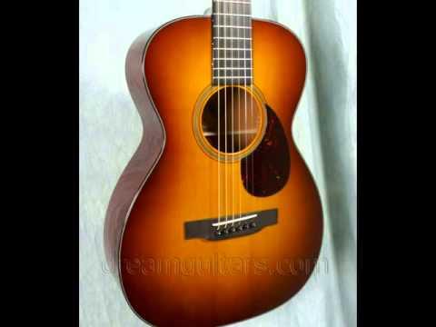 2007 Collings 01AVSB Mahogany/Adirondack Red at Dream Guitars