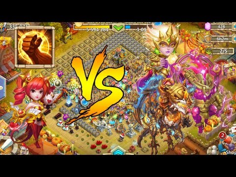 Castle Clash 8 Brute Force Dove Vs 20 Fully Maxed Beasts, No Crests, Pets Or Artifacts.