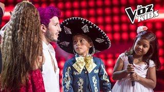 David, Majo Valiente y Alana cantan Mi Salón está de Fiesta - Batallas | La Voz Kids Colombia 2018 thumbnail