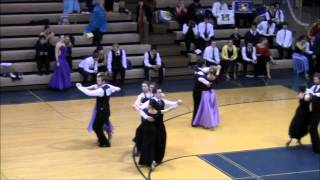 Bronze International Standard Tango at the 2012 Michigan Ballroom Dance Competition