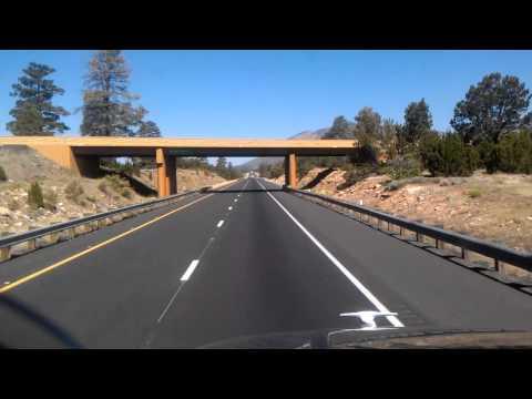 43 Miles to Flagstaff, Arizona on Interstate 40 Westbound