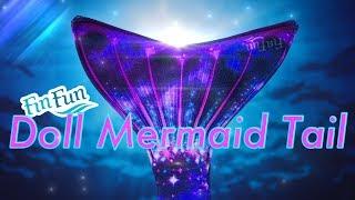 Unbox Daily: Fin Fun Mermaid Doll Tail & Top